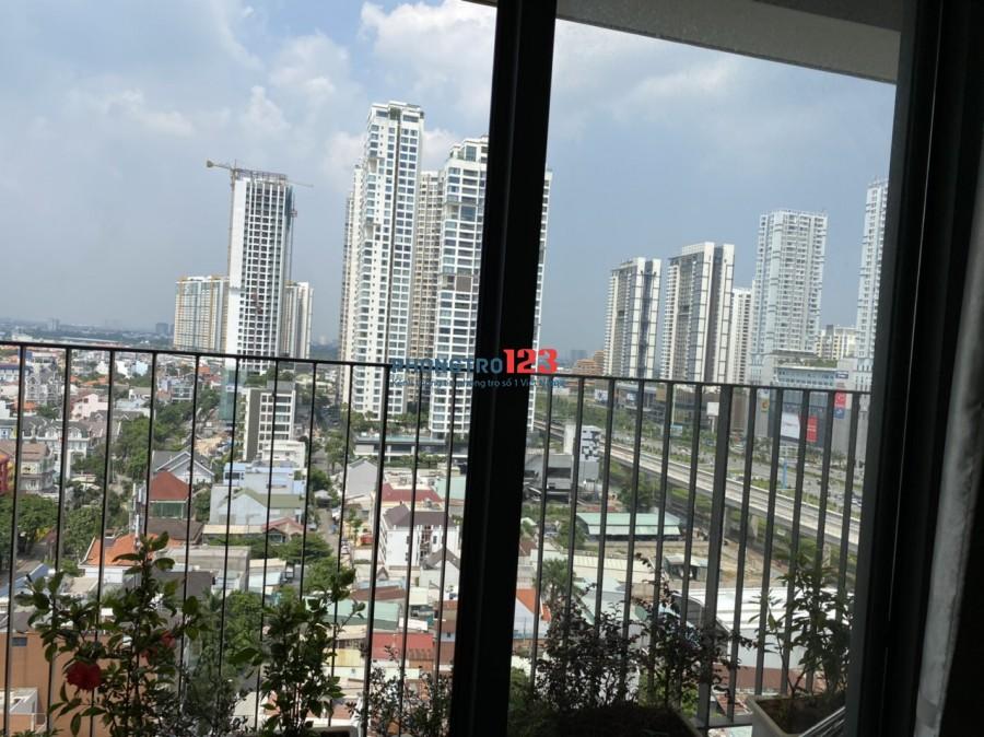 Cho thuê căn hộ 68,5m2 2pn 2wc, Đầy đủ nội thất cao cấp tại Thảo Điền, Q.2. Giá 18tr/tháng