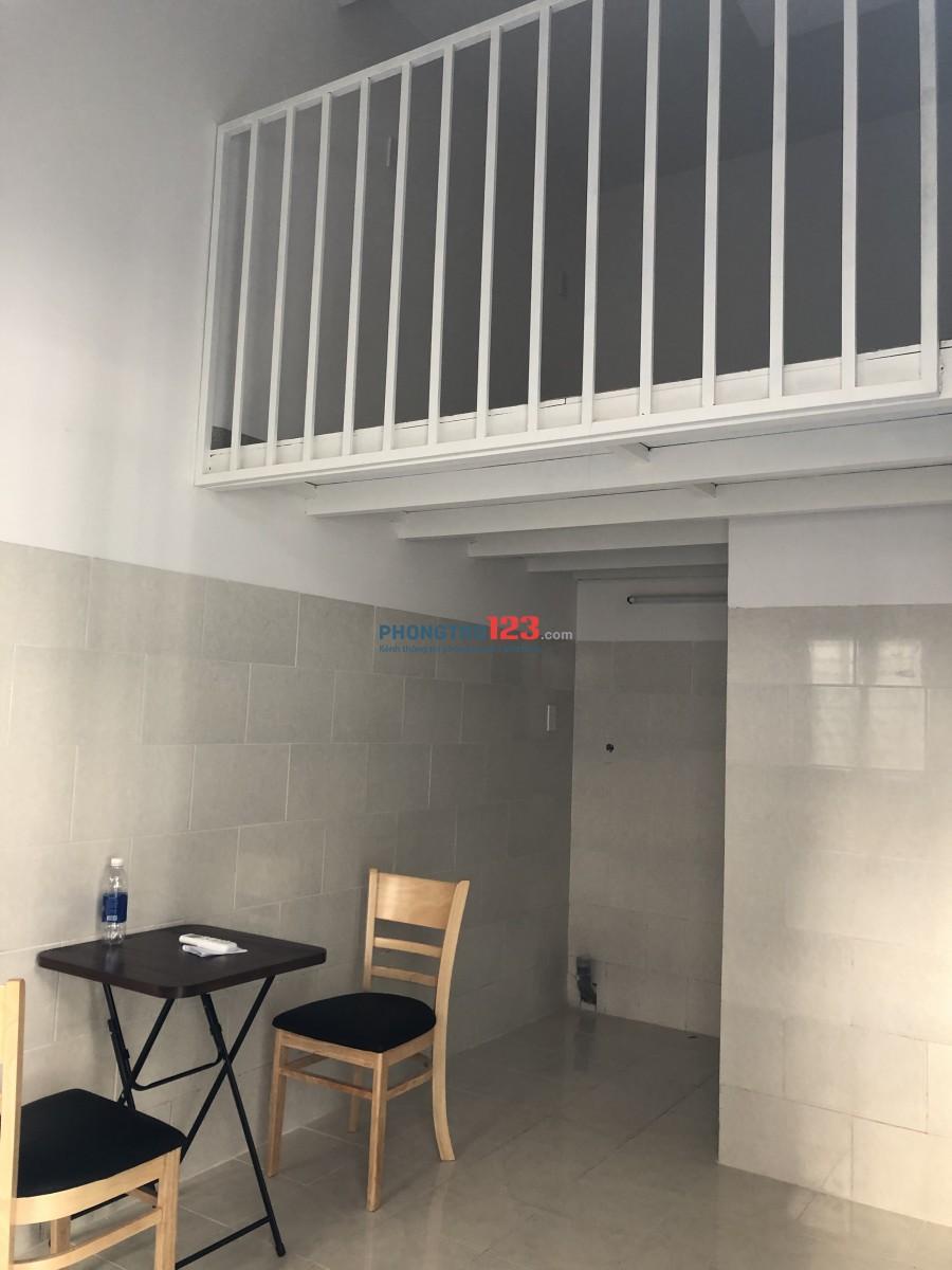 Phòng trọ tầng trệt tiện nghi mới xây khu vực an ninh