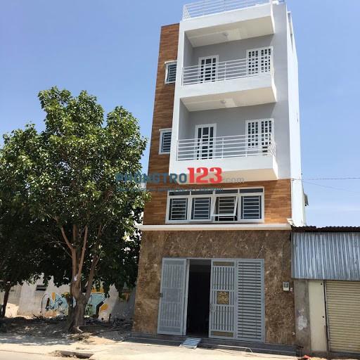 Cho thuê nhà mới nguyên căn 1 trệt 1 lửng 3 lầu mặt tiền 72 Trần Thị Tao, Phước Kiểng, Nhà Bè