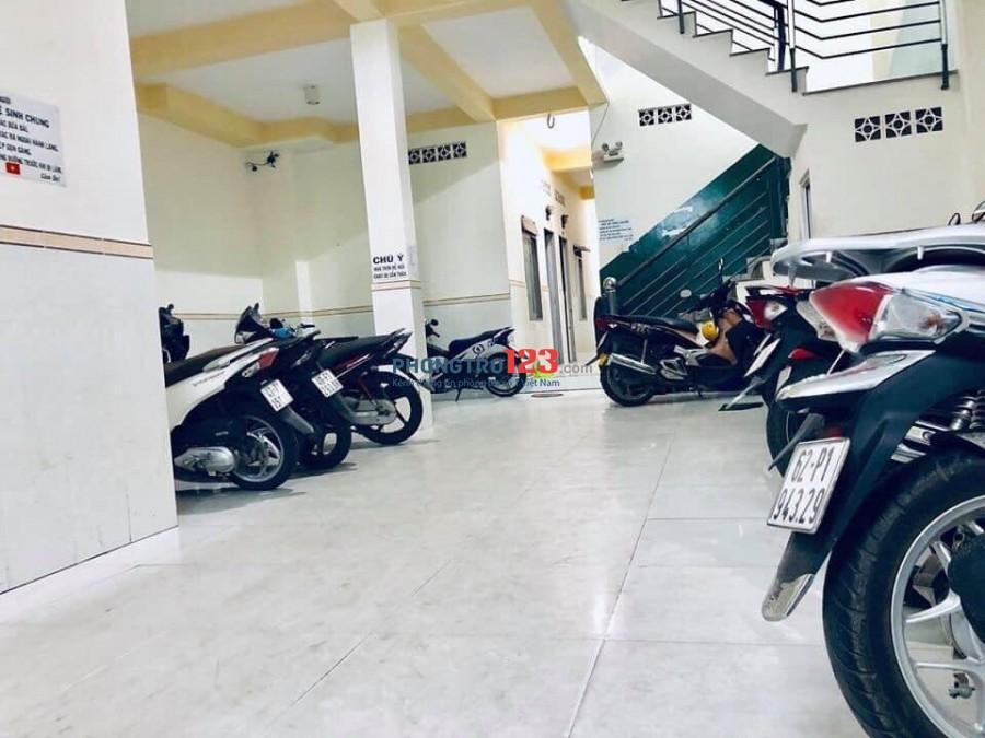 Phòng trọ mới đẹp có gác, an ninh có bảo vệ 24/24, không ở chung chủ, Đường D16, Tây Thạnh, Q.Tân Phú