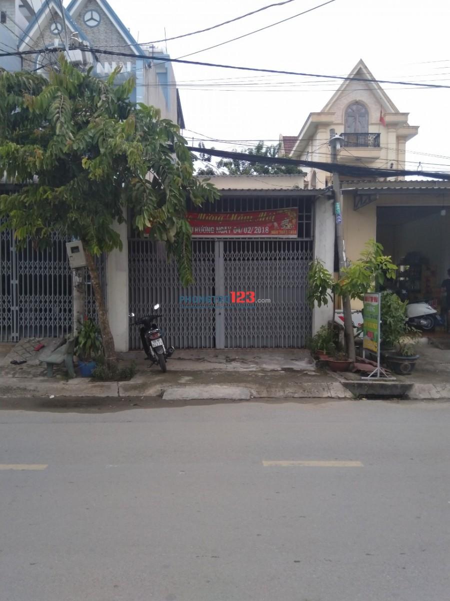 Nhà mặt tiền Hoc Môn, kinh doanh hoặc ở