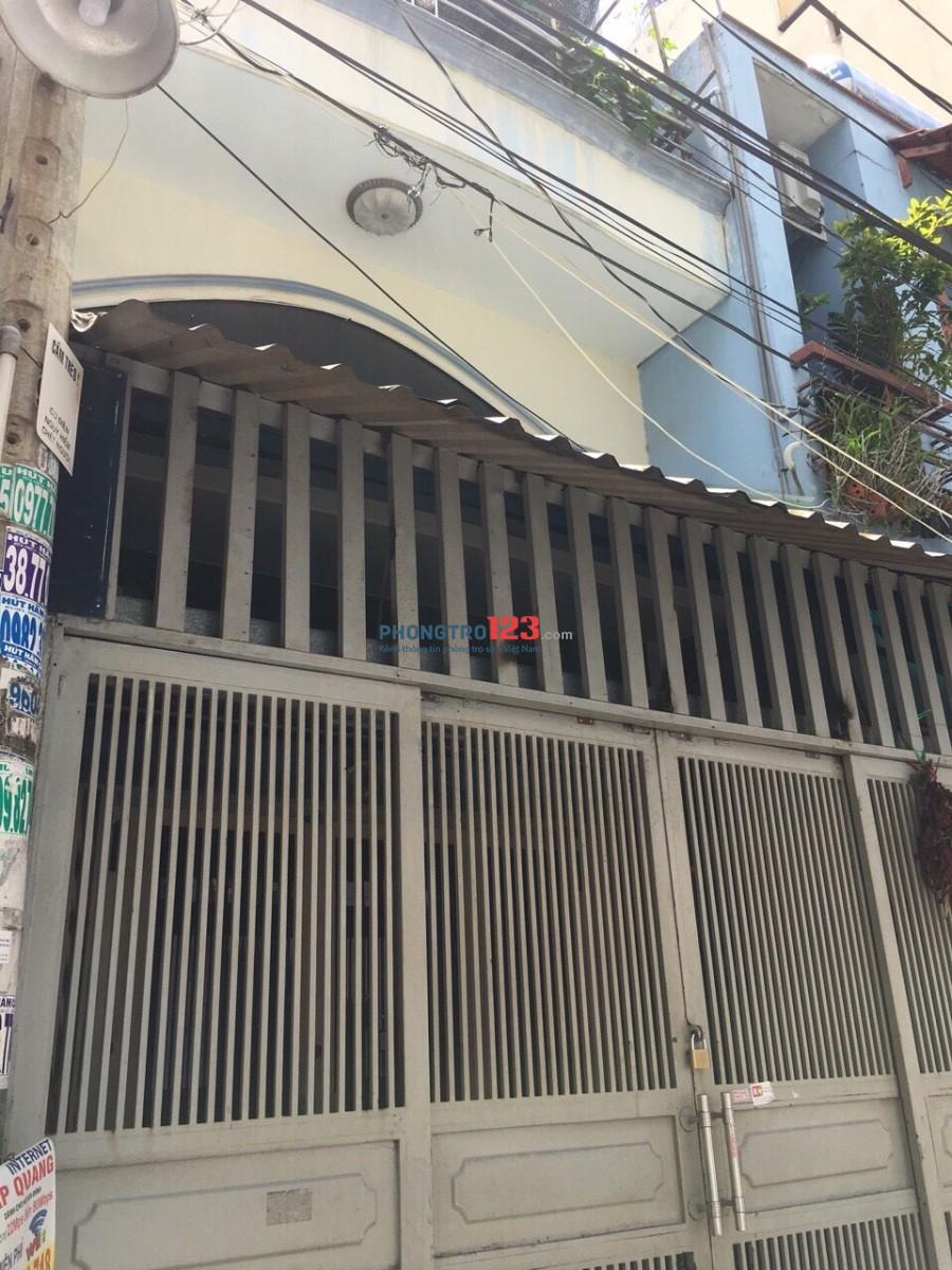 Cho thuê nhà nguyên căn quận Tân Phú, giá 12 tr/th