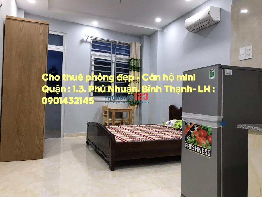Phòng cao cấp full nội thất- Bùi Đình Tuý, Q.Bình Thạnh gần ngã tư Hàng Xanh