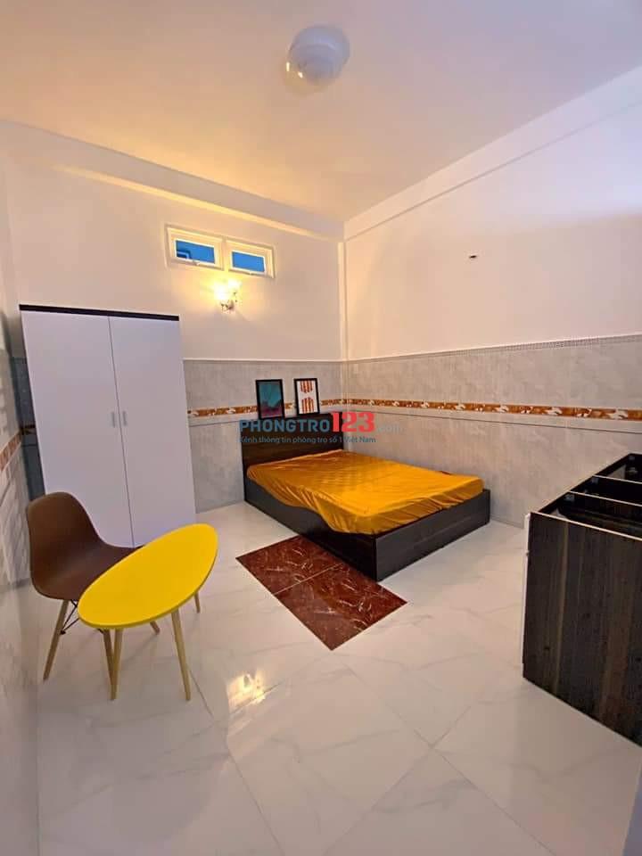Cho thuê phòng mới xây full NT
