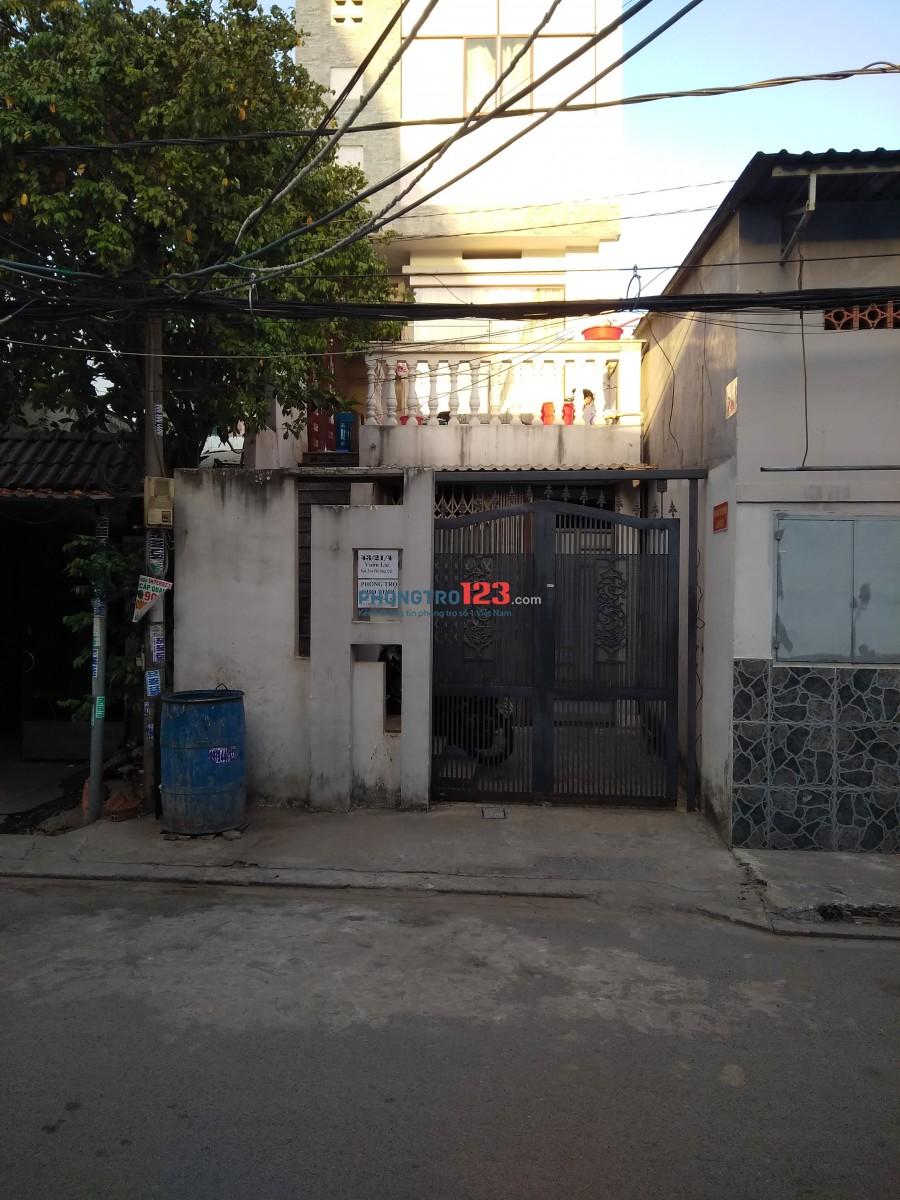 Phòng trọ sạch sẽ tiện nghi gần trường Nguyễn Tất Thành, Q.12