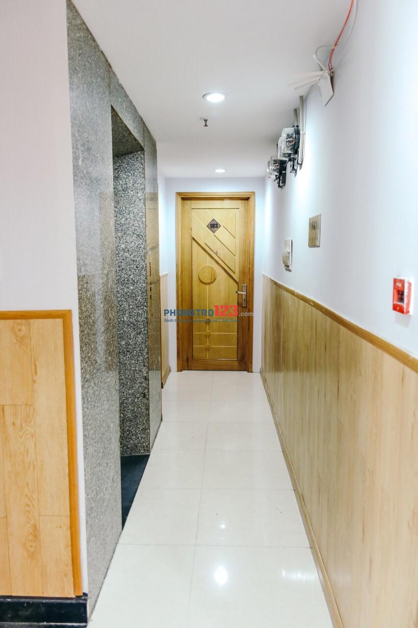 Cách Lotte Quận 7 500m,30m2 4tr9 phòng cao cấp đầy đủ nội thất, giờ giấc tự do. Zalo 0909069038