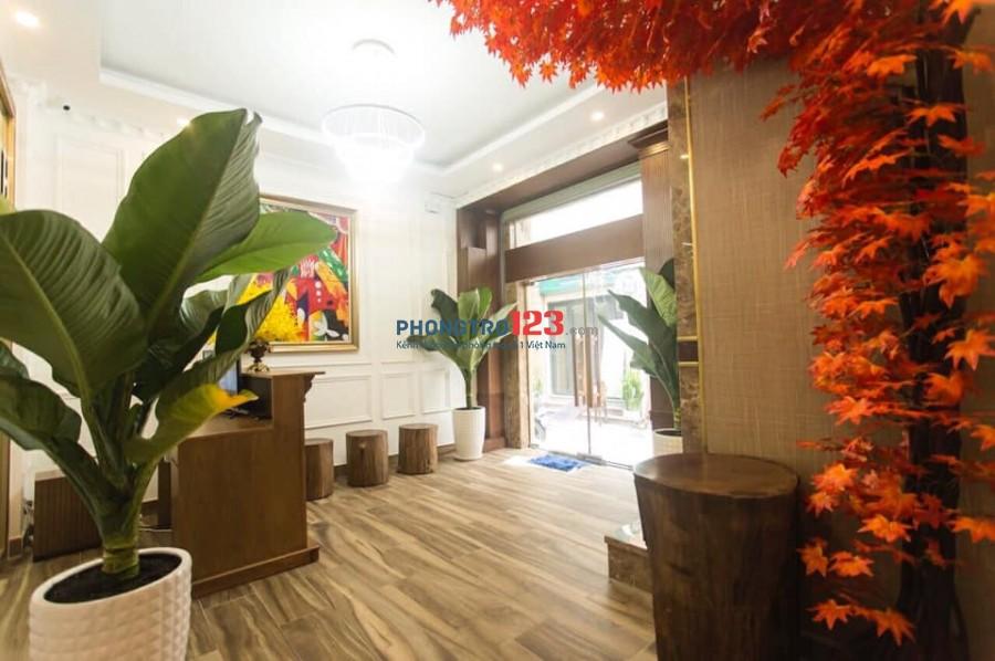 Cho thuê phòng bao điện nước, Full nội thất cao cấp chuẩn Khách Sạn tại Phạm Ngọc Thạch, Q.3