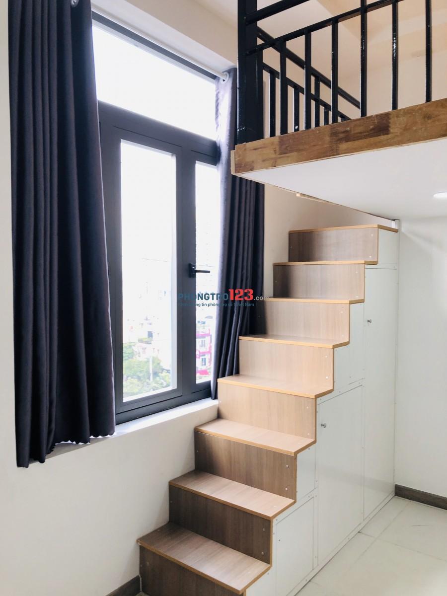 Cho thuê căn hộ có gác, 30m2, tiện nghi đường Âu Cơ Q.Tân Bình