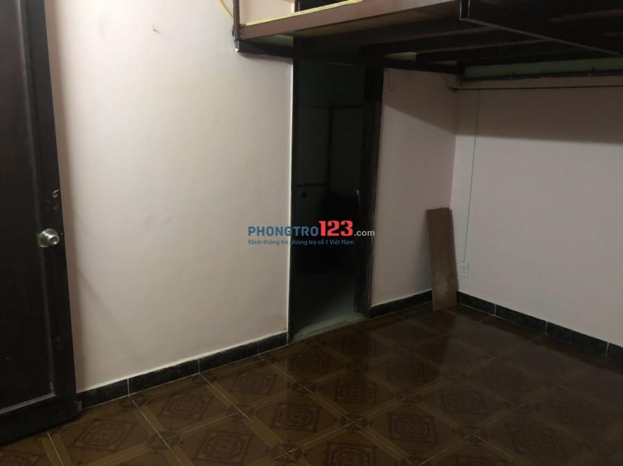 Phòng trọ 79 Bàu Cát có gác giờ giấc tự do giá 1.5 tr/th