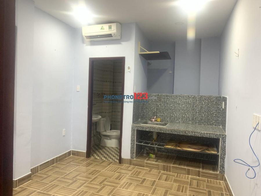 Cho thuê phòng trọ mới có máy lạnh nhà hẻm xe hơi gần Cầu Bông Q.Bình Thạnh, Giá 4.3tr/th