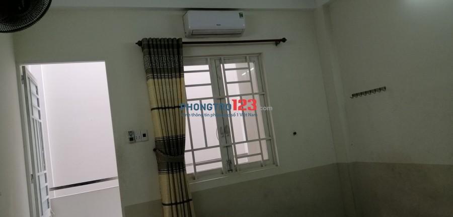 Phòng trệt có máy lạnh 2.7tr, P.Phú Thạnh, Q.Tân Phú
