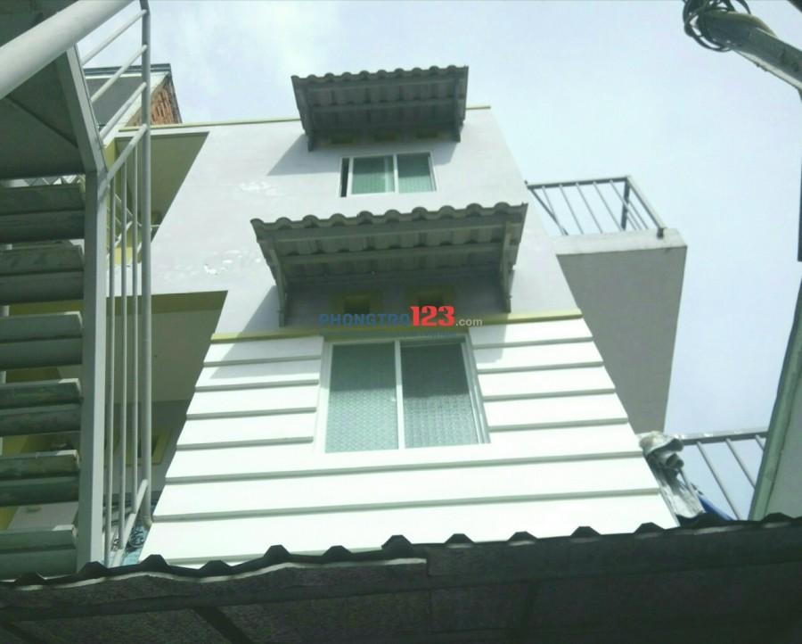 Phòng trọ lầu 2, gác lửng, ban công riêng, thoáng mát, gần chợ Phú Lâm