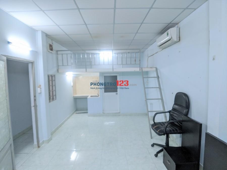 Cho thuê phòng có gác, máy lạnh bảo vệ 24/24 ngay chợ Bùi Đình Túy, Bình Thạnh