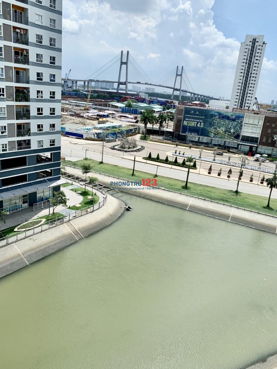 Chính chủ cho thuê căn hộ Jamona Q7 50m2 1pn Full nội thất cao cấp, giá 7.5tr/tháng