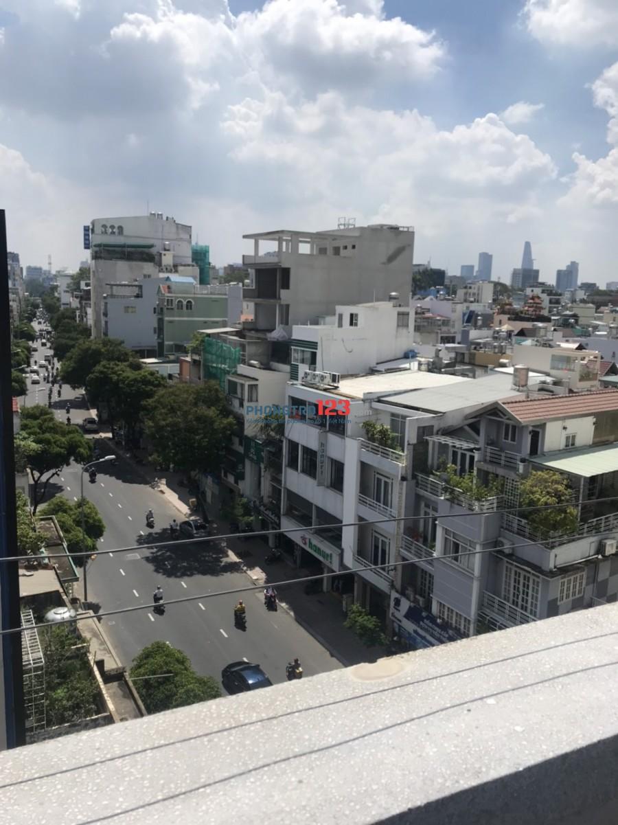 Cho thuê căn hộ 60m2 có lửng 1pn 1wc mặt tiền 614 Điện Biên Phủ, P.11, Q.10. Giá 5tr/tháng