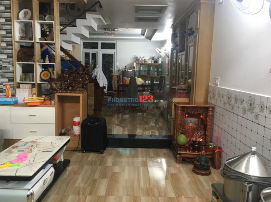 Chính chủ cho thuê nhà nguyên căn 1 trệt 1 lửng 2 lầu 5pn mặt tiền Quang Trung, Q.Gò Vấp