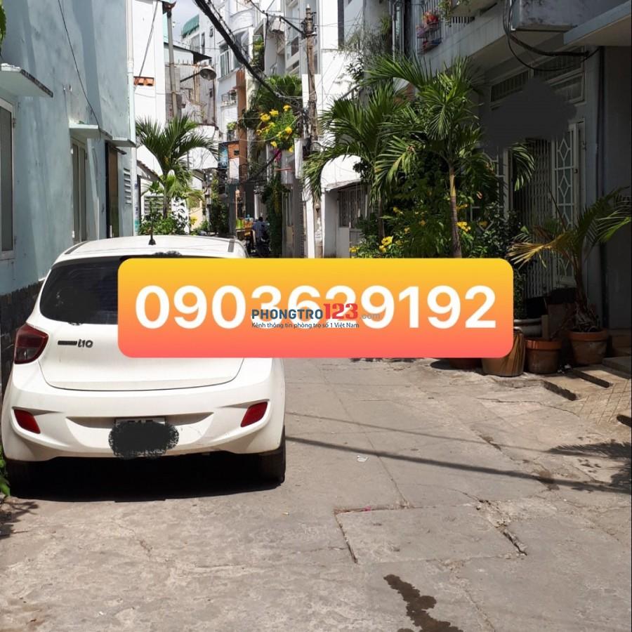 Cho thuê nhà nguyên căn Bình Thạnh- Hẻm xe hơi