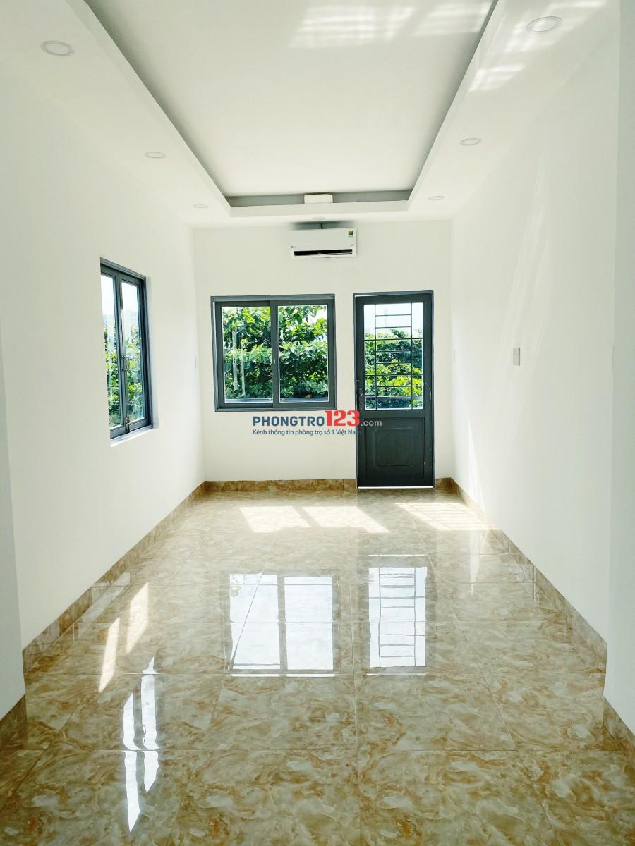 Phòng cho thuê mới xây có ban công 35m2 Bùi Đình Túy, P.12, Bình Thạnh gần Hàng Xanh