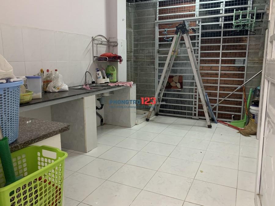 Thuê nhà nguyên căn, 1 trệt, 1 lầu Chu Văn An, 5 phút ra siêu thị Coop