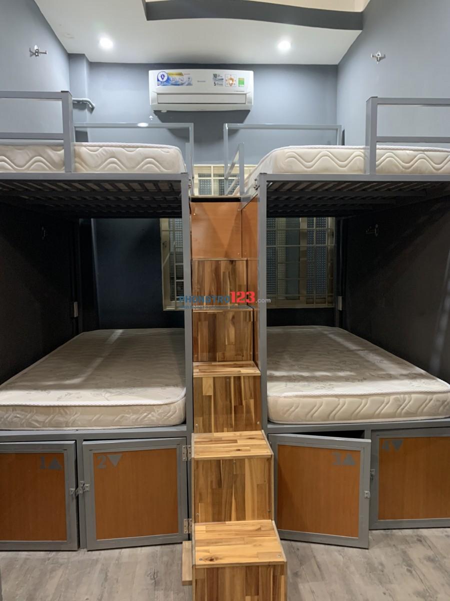 KTX Full tiện nghi quận 1 có bếp nấu ăn bv 24/24 hẻm xe hơi, giá 1tr600 bao điện nước