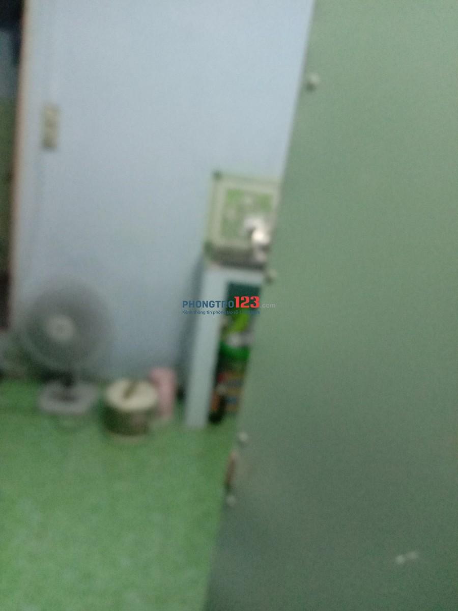 Phòng trệt có gác wc riêng, 43/20 Hoà Bình gần ngã tư kênh Tân Hóa. Giá 2tr
