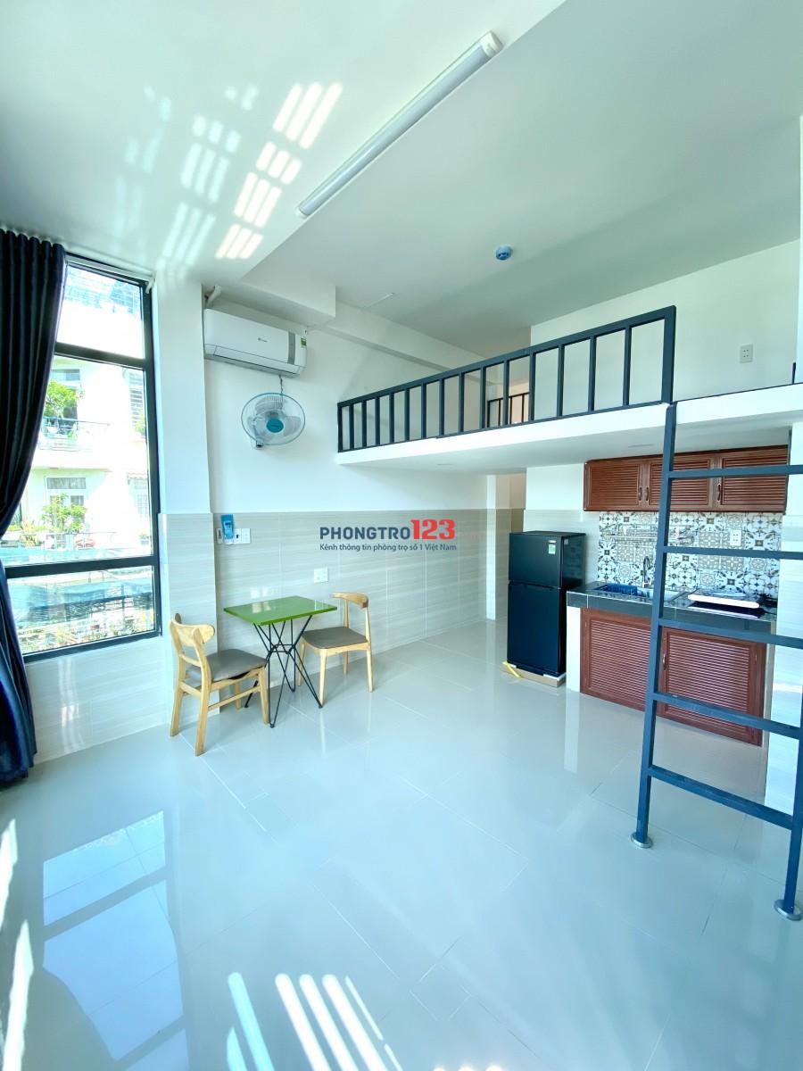 Phòng mới xây, gác lững, nội thất. Gần Nguyễn Kiệm, Gò Vấp