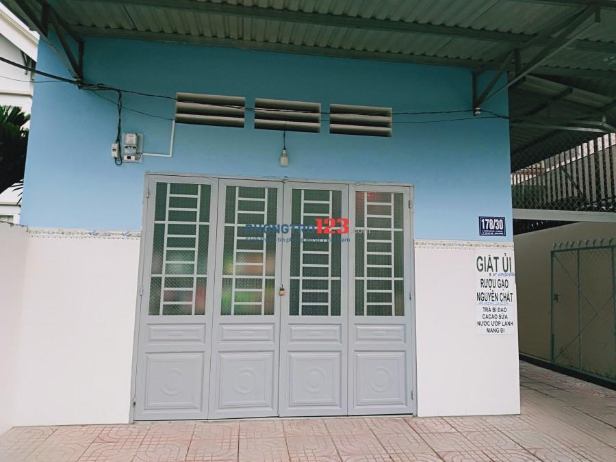 Cho thuê phòng 30m2 - P.Phú Lợi, Tp.Thủ Dầu Một, Bình Dương