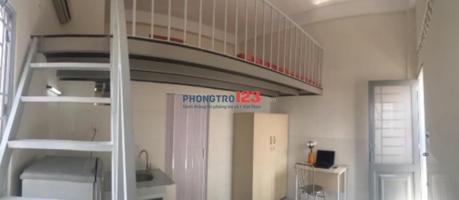 Cho thuê phòng mới có gác và máy lạnh wc riêng 28m2 Đường Võ Thị Nhờ Q7 Giá từ 3,3tr/th