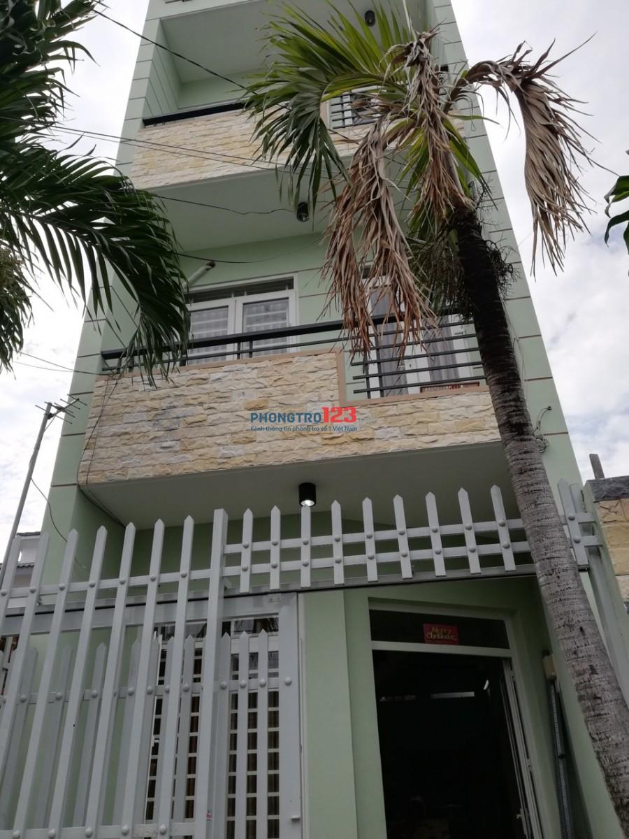 Cho thuê phòng đầy đủ nội thất gần công viên Làng Hoa Đường số 8, Q.Gò Vấp. Giá 3tr/th