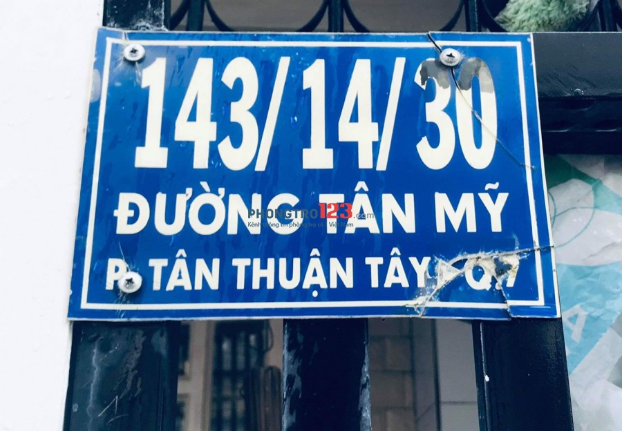 Cho thuê nguyên tầng trệt gần ĐH Marketing, KCX Tân Thuận