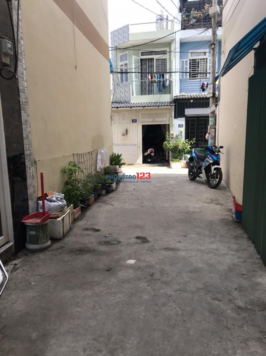 Cho thuê nhà 3 lầu 3pn hẻm xe hơi Tại Đường 18E P Bình Hưng Hòa A Q Bình Tân giá 7tr/th