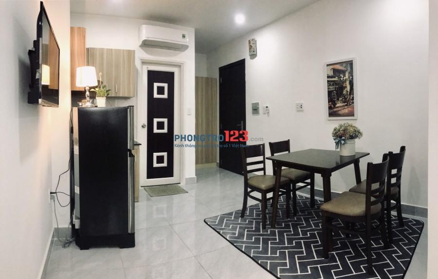 Căn hộ full nội thất, thang máy mặt tiền đường Phan Văn Trị