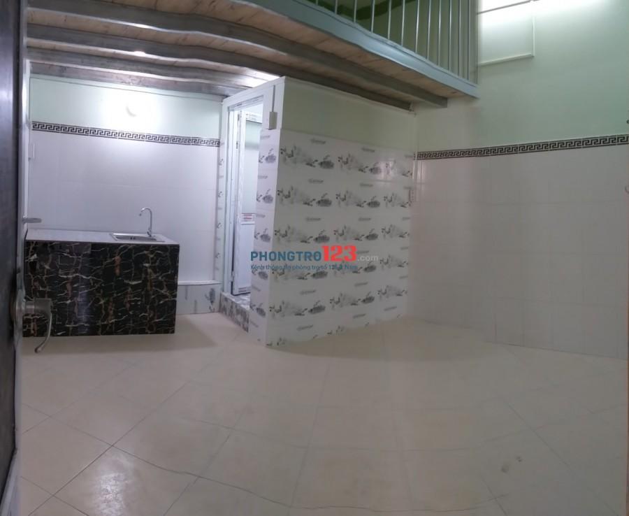 Cho thuê phòng trọ mới xây rộng rãi số 26 đs30 P6 Gò Vấp