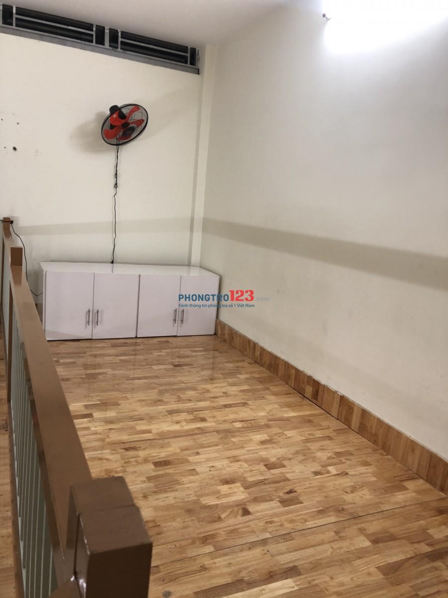Cho thuê phòng trọ Quận Tân Phú, tầng trệt lối đi riêng, full nội thất