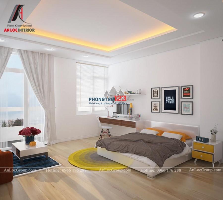 Cho thuê căn hộ full nội thất giá khuyến mãi 4tr5