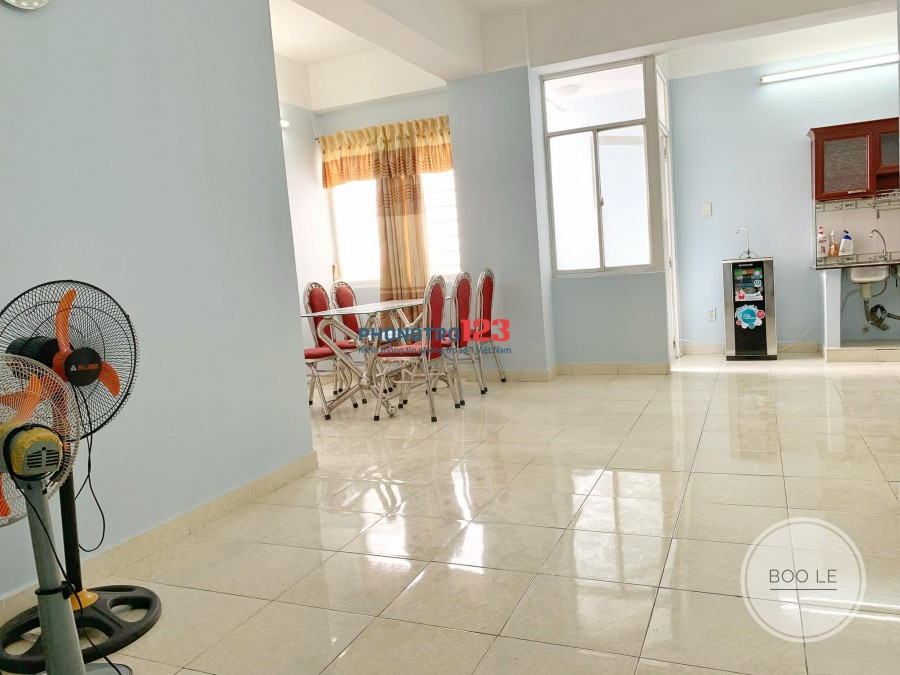 Cần cho thuê căn hộ Tân Thịnh Lợi, Quận 6. DT: 60m2,2PN,1WC Giá 7 triệu / 1 tháng