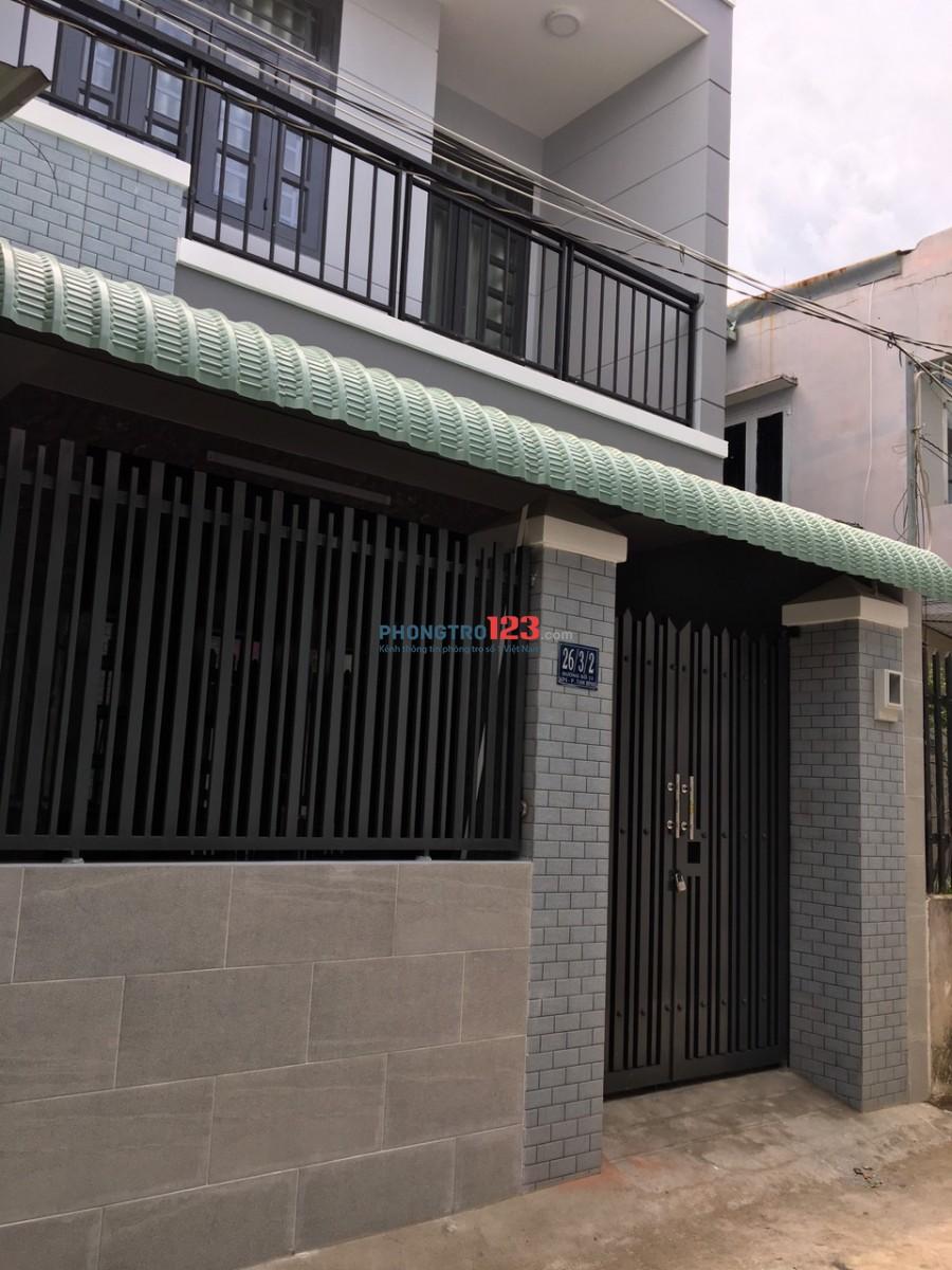 Cho thuê nhà mới xây 1 trệt 1 lầu 120m2 3pn tại Đường số 12 P Tam Bình Thủ Đức