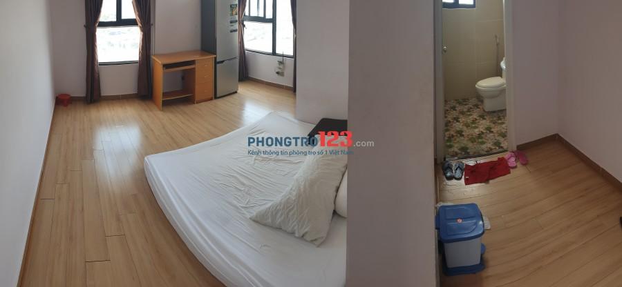 Phòng master trong căn hộ cao cấp full nội thất