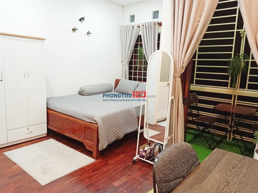 Cho thuê phòng 30m2 Full nội thất cao cấp chuẩn khách sạn tại Võ Thị Sáu, Q.3. Giá 7.5tr/th