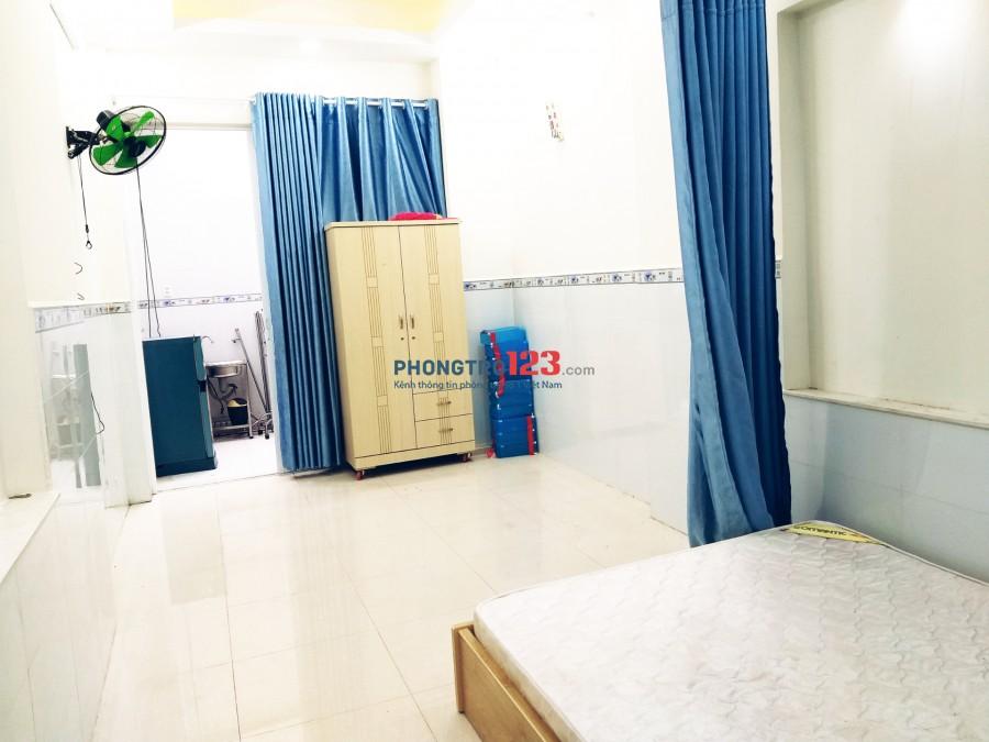 Phòng trọ cao cấp siêu rộng, bếp, toilet tách biệt