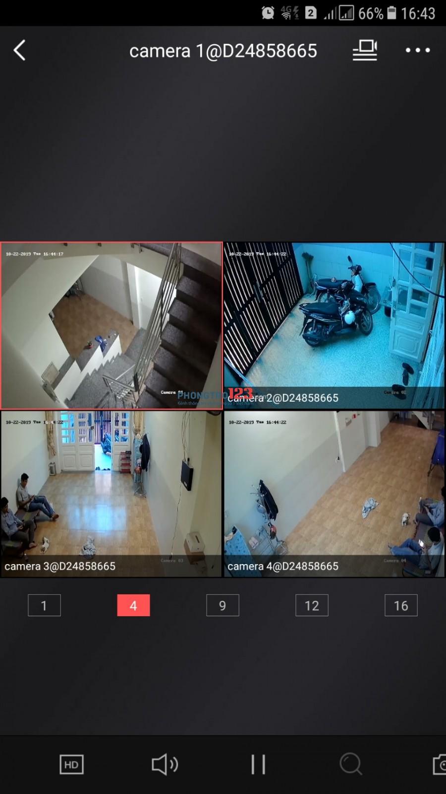 Phòng 25m2, Gần Ngã Tư 4 Xã, Lê Văn Quới