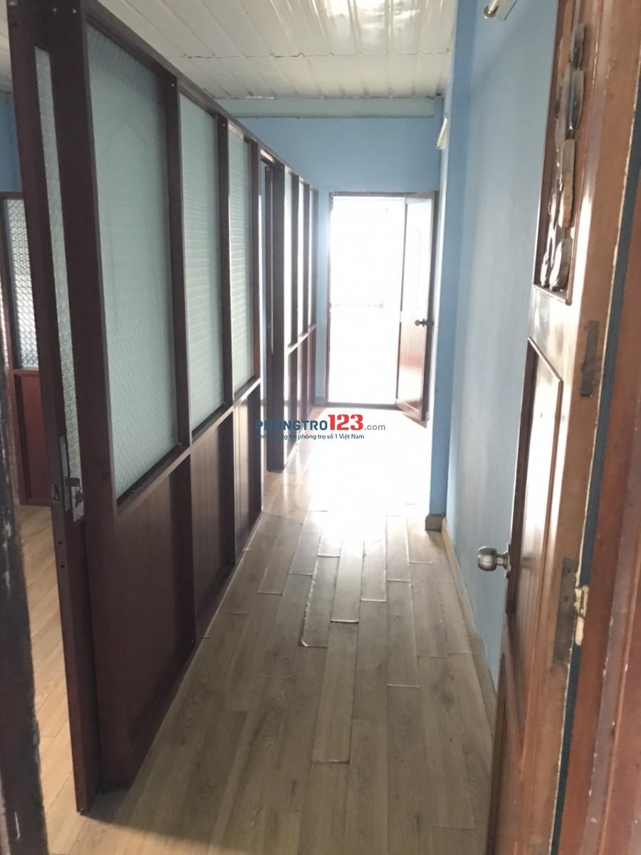 Cho thuê nhà nguyên căn 4x12 1 lầu 3pn hẻm sát Ga Tàu Hỏa đường Nguyễn Thông P9 Q3