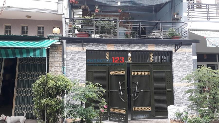 Phòng trọ 12.5 m2 đường Lê Lăng, Tân Phú
