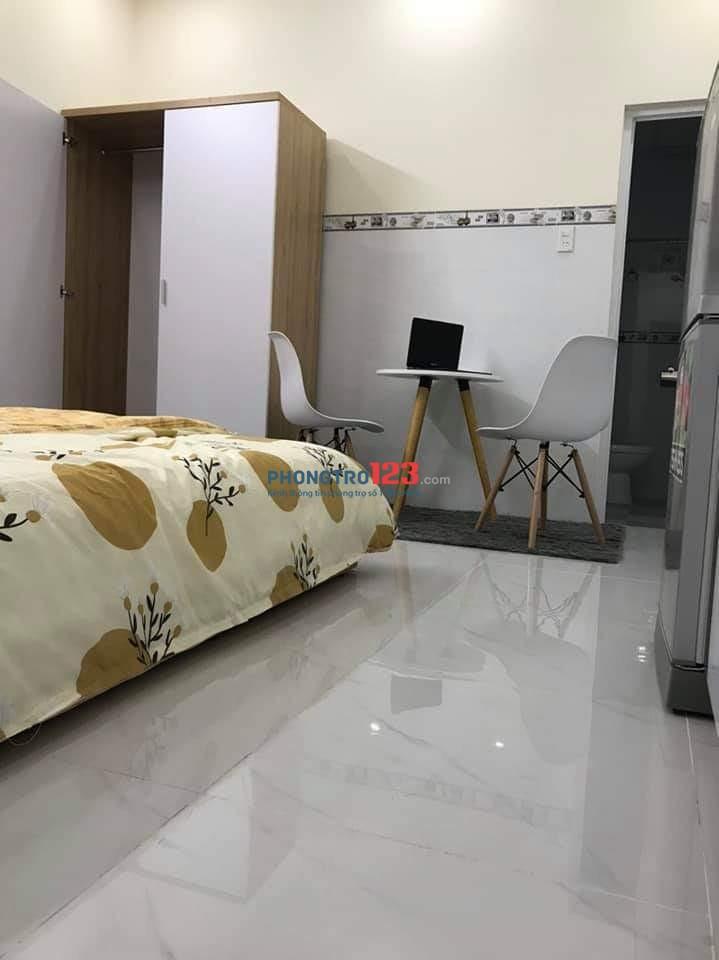 Cho thuê căn hộ mini full nội thất ở đường trục 30, ngay cơ sở 3 Đại Học Văn Lang