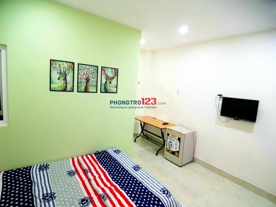 Cho thuê phòng trọ đầy đủ nội thất Phổ Quang, Tân Bình