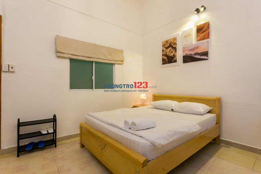 Phòng 25m2- 6,5tr đủ tiện nghi, hẻm ô tô ngay sát Landmark81