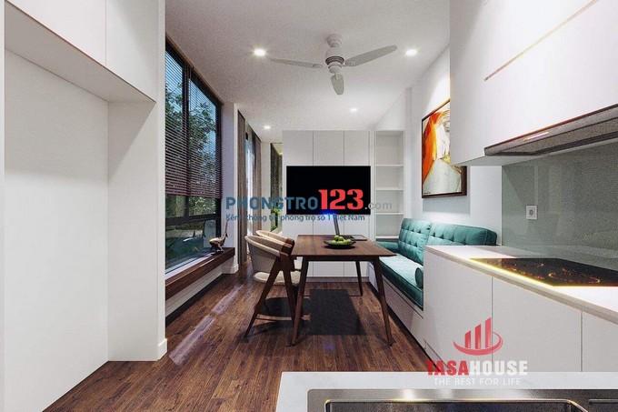 Cho thuê căn hộ dịch vụ studio Đường Nguyễn Giản Thanh (đối diện chợ thuốc TH Thành)