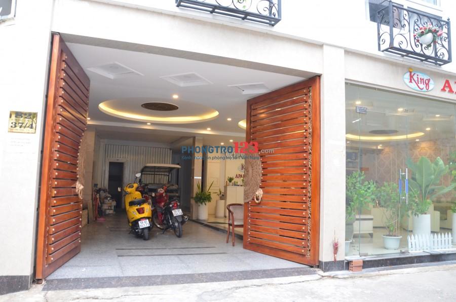 Căn hộ dịch vụ, có phòng 1 PHÒNG NGỦ Full Nội thất đối diện nhà thờ Tân Định Quận 1