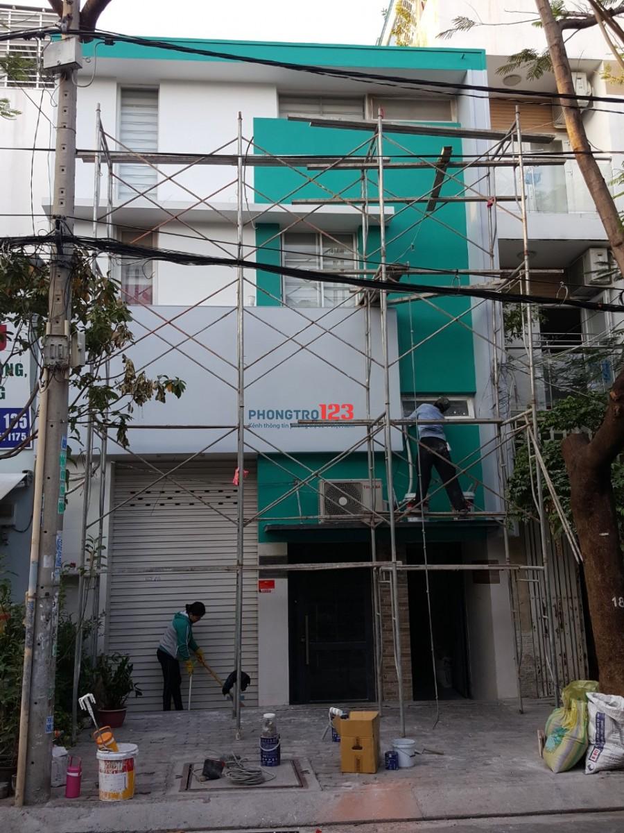 Phòng trọ gần lotte chợ Tân Mụ khu độc lập tri thức giá rẻ có nhà xe và toilet riêng