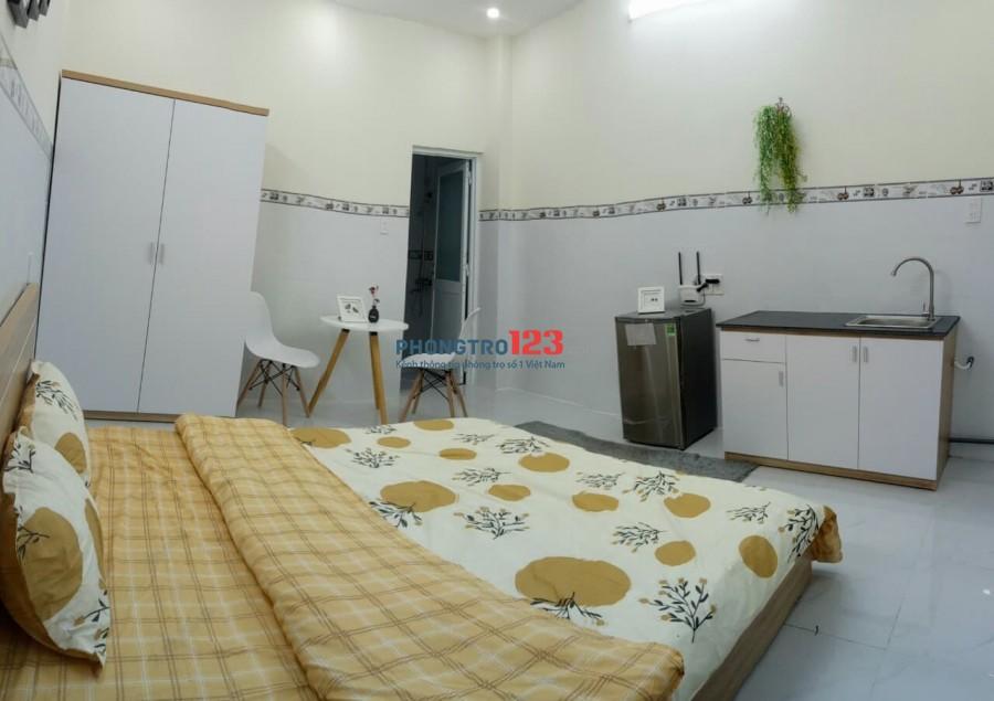 Cho thuê căn hộ cao cấp thoáng mát tại 361 Nguyễn Xí, Bình Thạnh
